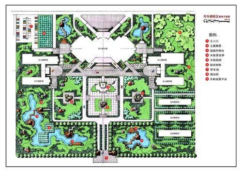 某司令部大院景观设计