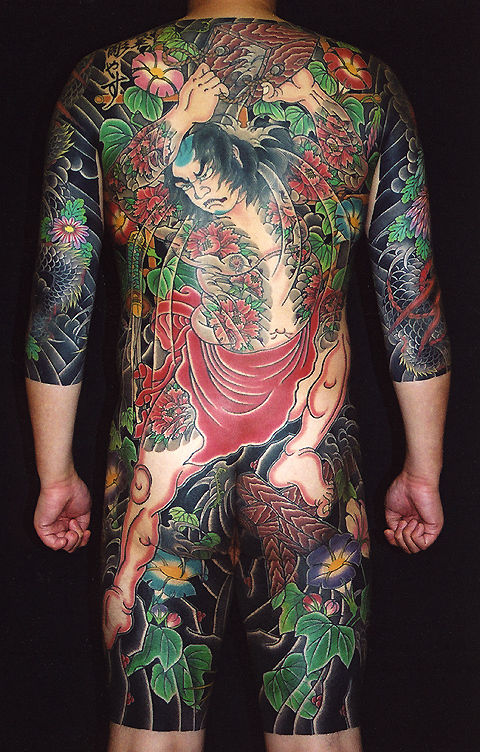 show国际纹身艺术交流大会上目睹了浅草雕安的作品,来自australia的aj