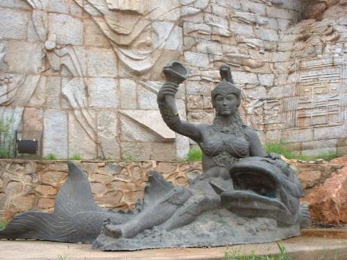 海的故事——大型雕塑壁画(二)-叶子飞扬-搜狐博客
