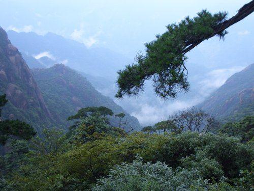 它雄奇瑰丽,是一座风景山.
