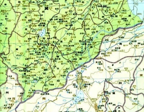 三国相关地图