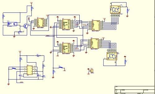 直流电机调速测速电路设计-------光电课程设计作品1