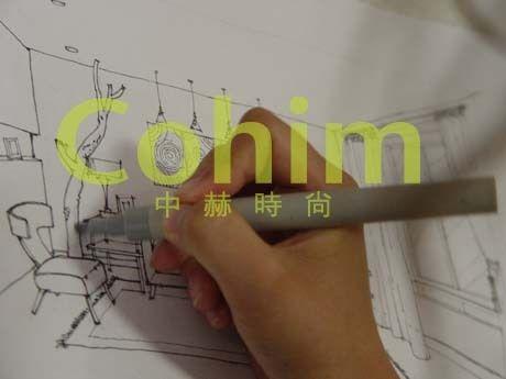家居陈列设计手绘效果图课程的第二天