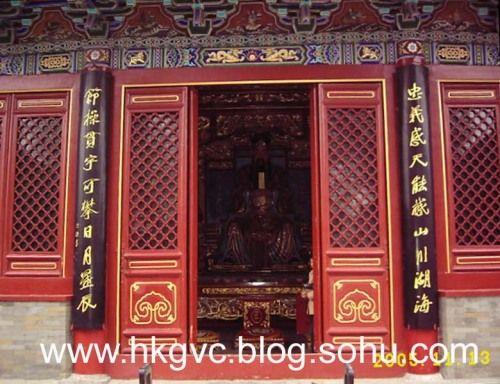 郑州城隍庙-八仙过海-搜狐博客