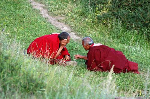 郎木寺的喇嘛(2006年8月6日)