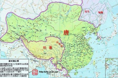 唐朝时的中国地图和世界地图-兰亭书画交流社-搜狐