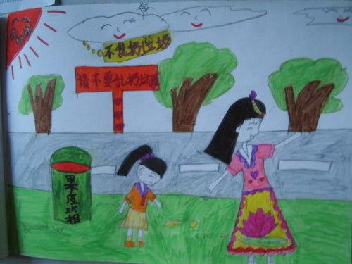 儿童画保护环境-恬薇宝贝-搜狐博客
