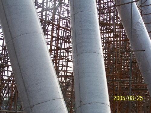 关于双曲线冷却塔(一)